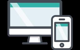 受注情報は、スマートフォンやタブレット、パソコンでかんたんに確認できます